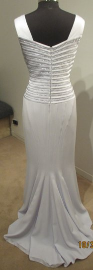 Daymor Couture Ice 404 Formal Bridesmaid/Mob Dress Size 12 (L)