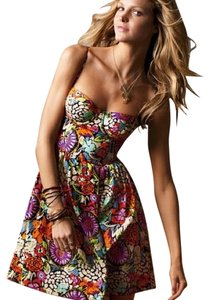 Victoria's Secret short dress floral Corset on Tradesy