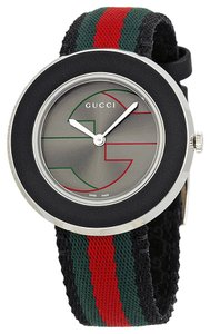 Gucci Nylon Strap Red Green Black Sport Casual Designer Dress Watch