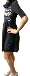 Gianni Bini short dress Grey Sweater on Tradesy