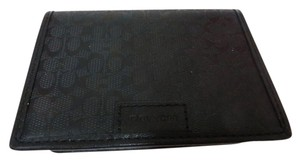 Coach Coach Compact ID Wallet SIGNATURE SLIM PASSCASE ID WALLET F74580
