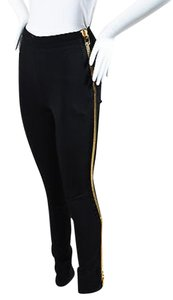 Tom Ford Gold Tone Zipper Slim Fit Tuxedo Pants