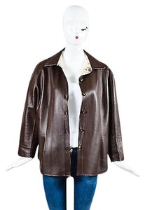 St. John Sport Tan White Brown Jacket
