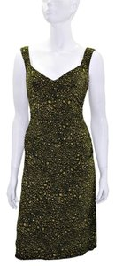 Laundry by Shelli Segal Floral Sleeveless Polyester Dress
