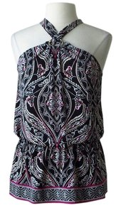 White House | Black Market Paisley Halter Top