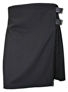Burberry London Pleated Skirt Black