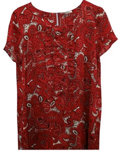 DKNY Paisley Shift Dress