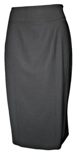 Burberry London Virgin Wool Wool Skirt Black