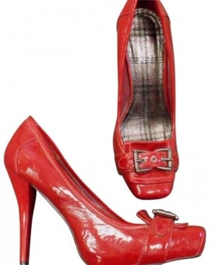Preload https://item5.tradesy.com/images/anne-michelle-red-patent-leather-pumps-size-us-75-144044-0-0.jpg?width=440&height=440