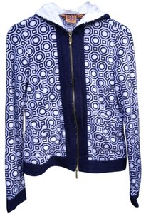 Tory Burch Terry Cloth Jacket Sweater
