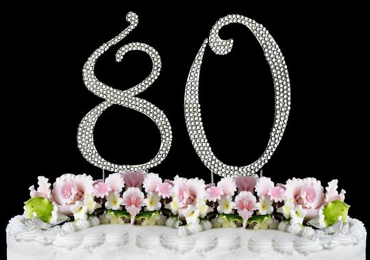 Preload https://item1.tradesy.com/images/silver-rhinestone-80-cake-topper-1440465-0-0.jpg?width=440&height=440