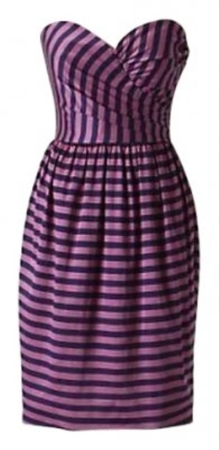 Preload https://item1.tradesy.com/images/anthropologie-pink-and-navy-striped-coreylynncalter-above-knee-cocktail-dress-size-4-s-144050-0-0.jpg?width=400&height=650
