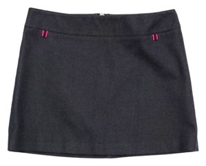 Miu Miu Grey Denim Mini Mini Skirt
