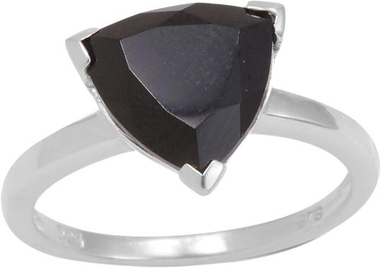 Unknown Thai Black Spinel Triangle Ring