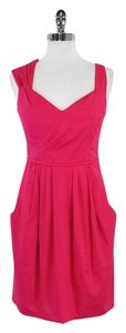 Nanette Lepore short dress Pink Cotton Blend on Tradesy