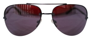 Valentino VALENTINO 5752/S AVIATOR BLACK LENSES FRAMELESS SUNGLASSES UNISEX 61 MM