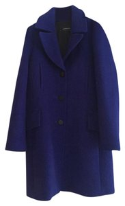 Club Monaco Wool Midi Pea Coat