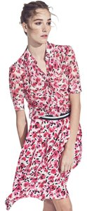 Kate Spade Top Pink Red Floral