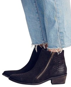 Free People New Western Chocolate Brown Boots