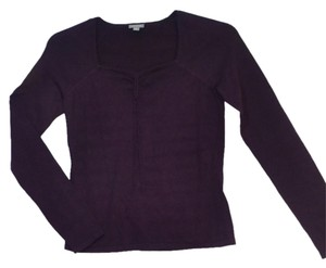 Ann Taylor Purple Long Sleeves Pullover Sweater