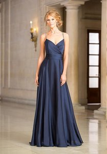 Jasmine Bridal Navy Blue Jasmine Belsoie Dress