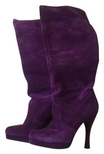 BCBGeneration Purple Boots