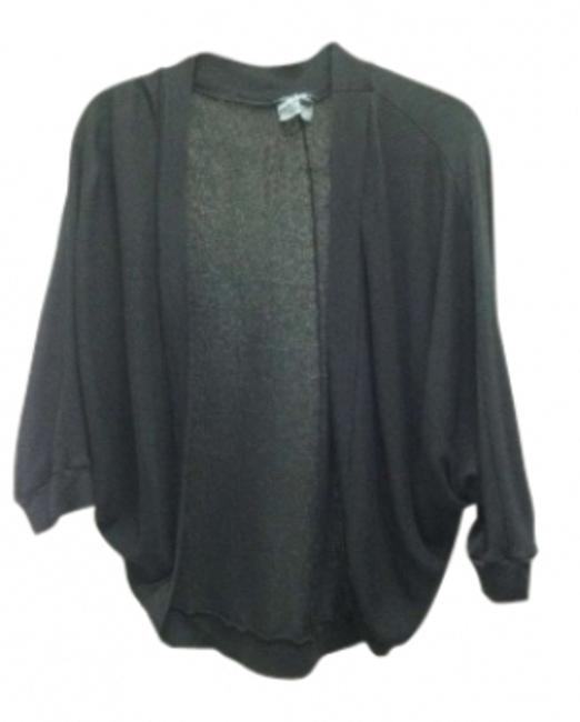Preload https://img-static.tradesy.com/item/144080/michael-stars-black-draped-dolman-cardigan-size-os-one-size-0-0-650-650.jpg