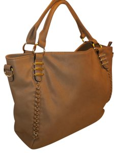 Unknown Large Shoulder Tote in Tan