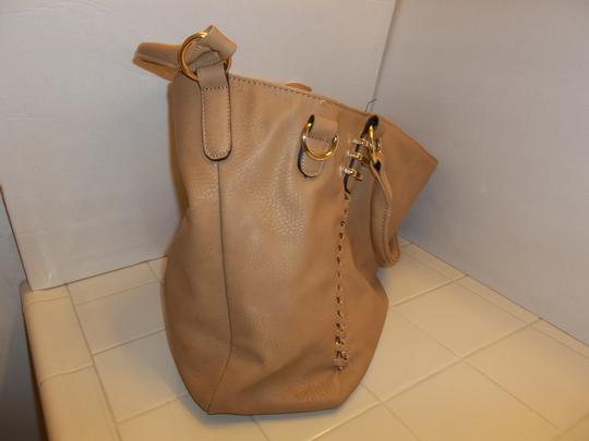 Other Large Shoulder Extra Strap Tote in Tan
