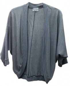 Michael Stars Draped Dolman Made In Usa Shine Wrap One Size Blue Designer Cocoon Usa American Wraparound Os Drapey Flowy Relaxed Cardigan