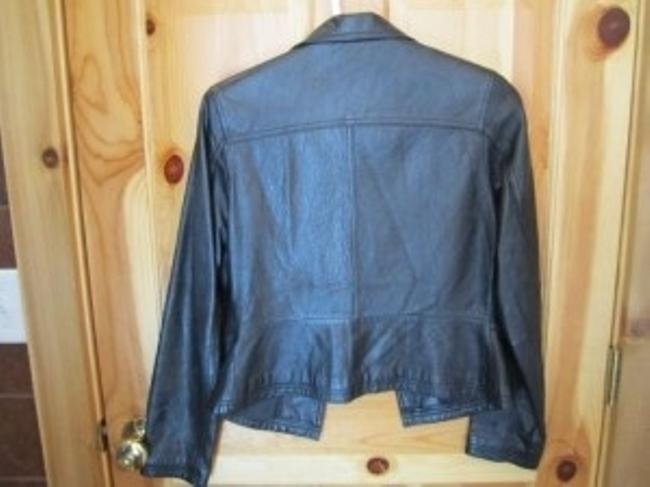 Wilsons Leather Blazer Vintage Blazer Leather Jacket