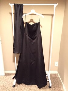 David's Bridal Black 8007 Dress