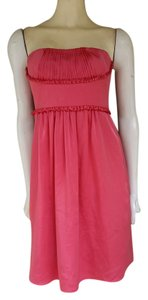 BCBGMAXAZRIA Silky Satin Strapless Dress