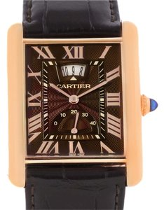 Cartier Cartier Tank Louis XL Power Reserve 18k Rose Gold Watch W1560002