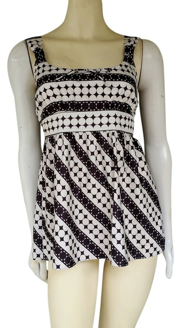Preload https://item5.tradesy.com/images/tommy-hilfiger-blue-ivory-black-circles-silky-tank-topcami-size-4-s-1440929-0-0.jpg?width=400&height=650