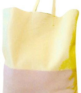 Céline Large Large Shoppers Carry All Chloe Gucci Tote in Yellow