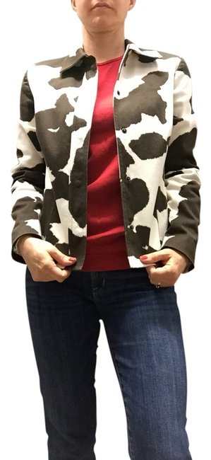 Preload https://item2.tradesy.com/images/michael-kors-brown-and-white-blazer-size-8-m-1440951-0-0.jpg?width=400&height=650