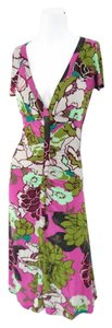 Etro Casual Summer Ready To Work Floral Size 4 Dress