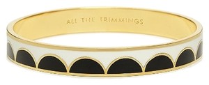 Kate Spade Kate Spade All the Trimmings Hinged Bracelet NWT Perfect Timeless Black & White Classic with Dust Bag!