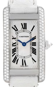 Cartier Cartier Tank Americaine 18K White Gold Diamond Watch WB701851