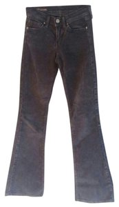 Citizens of Humanity Ingrid Corduroy Flare Pants Dark Blue