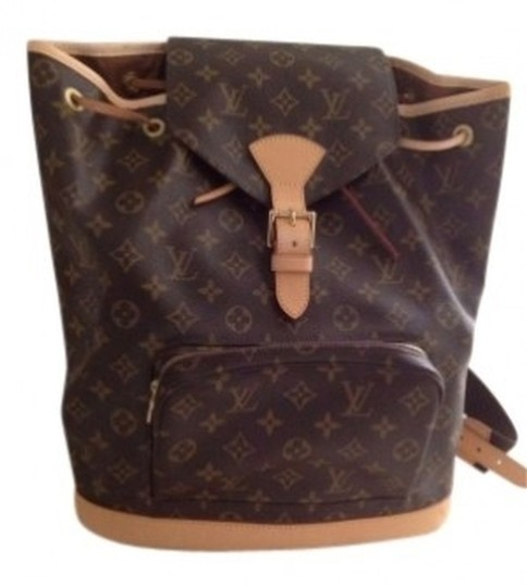Preload https://item1.tradesy.com/images/louis-vuitton-classic-lv-fabric-and-leather-backpack-144100-0-0.jpg?width=440&height=440