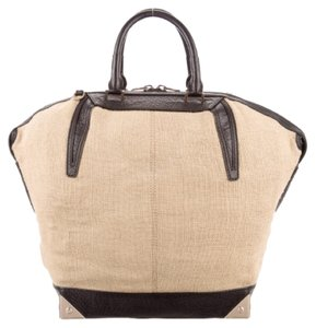 Alexander Wang Tote in Tan w Black Trim