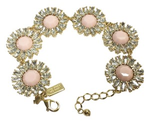 Kate Spade Kate Spade Estate Garden Pink Bracelet NWT Modern Romantic & Intricately Petaled Crystals