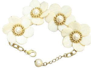 Kate Spade Kate Spade Garden Party Bracelet NWT RARE Not Available! White Mother of Pearl! Timeless Classic!