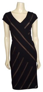 Maggy London Stretch V Neckline Size 8 Dress