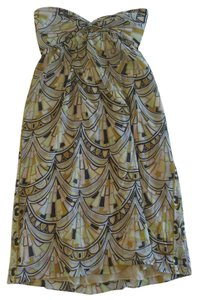 Emilio Pucci short dress yellow Print Pucci Beaded on Tradesy