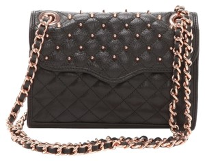 Rebecca Minkoff Rose Chain Quilted Cross Body Bag