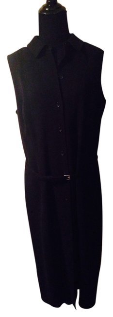 Item - Black Long Work/Office Dress Size 12 (L)
