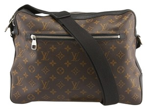 Louis Vuitton Lv Torres Monogram Macassar Brown & Black Messenger Bag